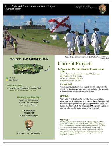 RTCA 2014 Puerto Rico News. This brochure provides information about the current projects and recent successes.
