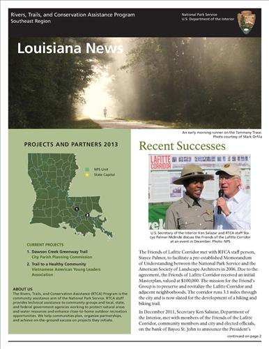 RTCA 2013 Louisiana News