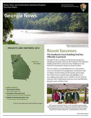 RTCA 2014 Georgia News. This brochure provides information about the current projects and recent successes.