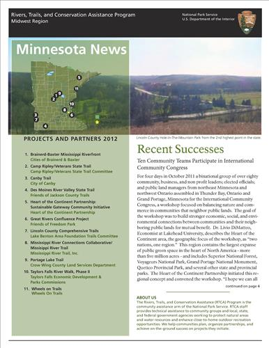 RTCA 2012 Minnesota News