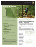 RTCA 2013 Missouri News. This brochure provides information about the current projects and recent successes.