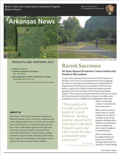 RTCA 2012 Arkansas News