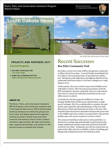 RTCA 2011 South Dakota News