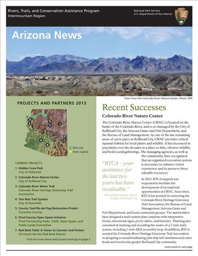 RTCA 2013 Arizona News