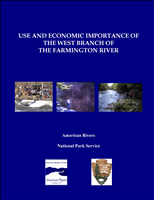 Use and Economic Importance of the West Branch of the Farmington River. This report presents the results of a comprehensive study of the recreation users, use and economic benefits, economic impact on towns, and effects on nearby property values of the 14-mile Wild and Scenic segment of the West Branch of the Farmington River in west central Connecticut.