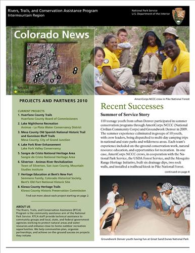 RTCA 2010 Colorado News