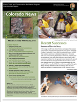 RTCA 2010 Colorado News. This brochure provides information about the current projects and recent successes.