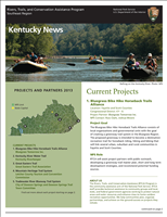 RTCA 2013 Kentucky News. This brochure provides information about the current projects and recent successes.