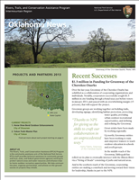 RTCA 2013 Oklahoma News. This brochure provides information about the current projects and recent successes.