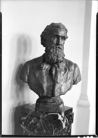 John Muir Bust by Pietro. In Biology Bldg. U. of Wisconsin