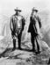 John Muir and Teddy Roosevelt at Glacier Point.
