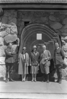 L-R: Carl Russell, Gladys Hale, Mr. & Mrs. George Pratt, Mr. Leavitt