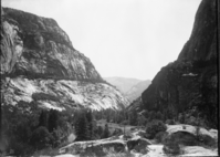 Hetch Hetchy Valley. Original in the YNP Collection (Cat. #20,180).