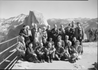 Group of NPS conferees who once worked in Yosemite